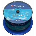 CD-R Verbatim DL 700MB 52x Extra Protection 50-cake 43351